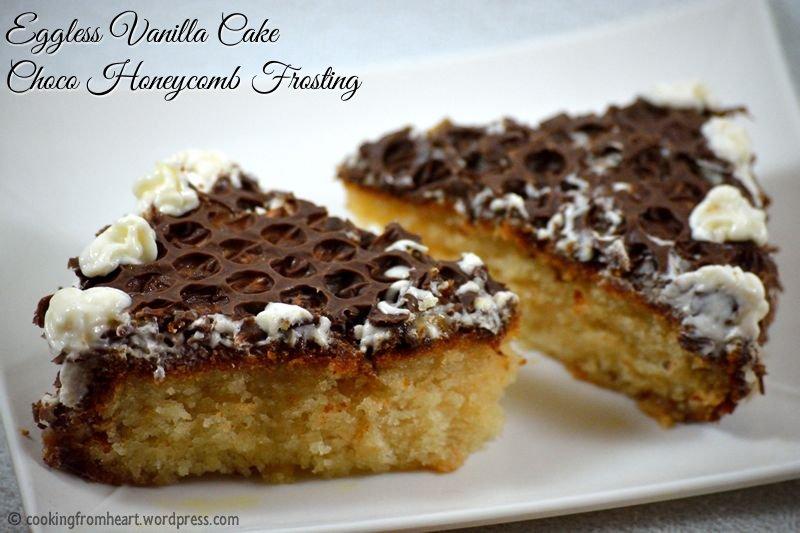 Eggless Vanilla Cake Recipe Indian Style