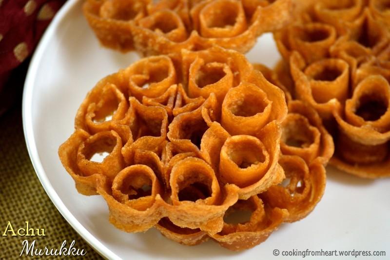 Achu Murukku | Rose Cookies | Cooking From Heart