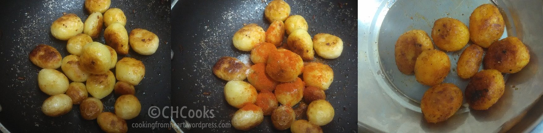 Baby Potato Roast | Stove Top Roast Baby Potatoes – Cooking From My ...
